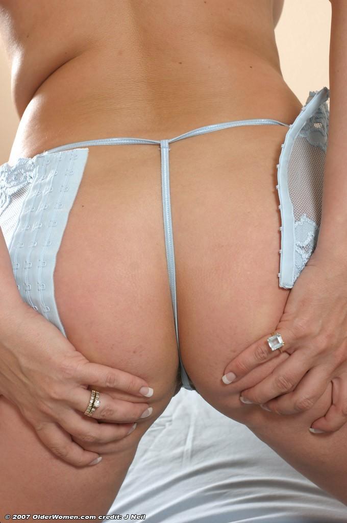 Шикарная попка в эротическом белье