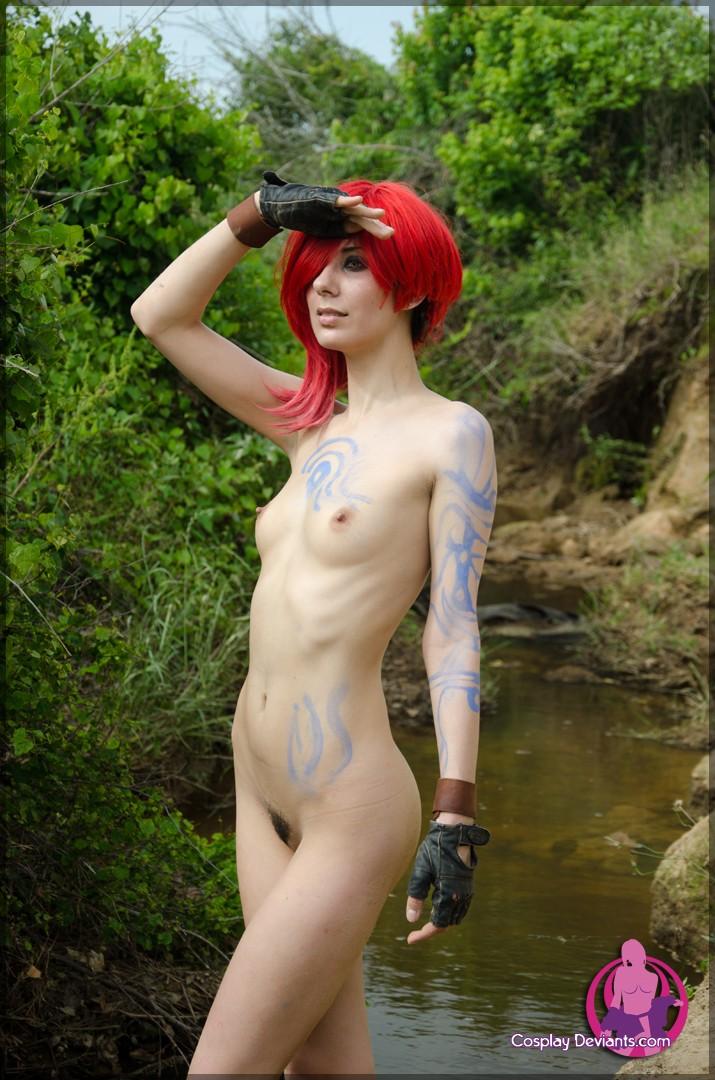 Красноволосая фурия и её пизда