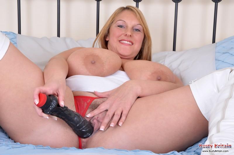 Сексуальная сочная дама в чулках