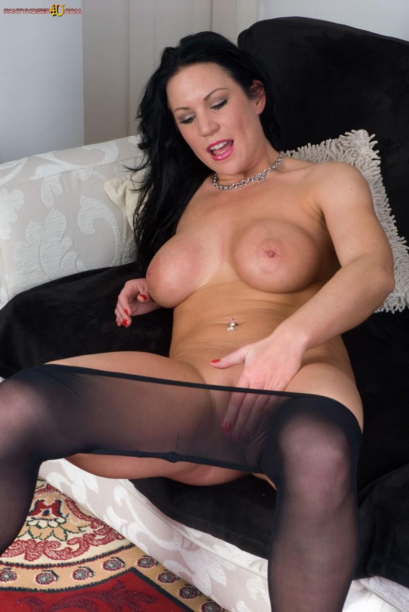 Сексуальная женщина в колготках