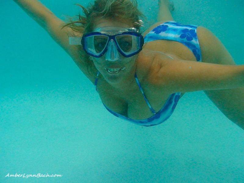 Крутая эротика под водой