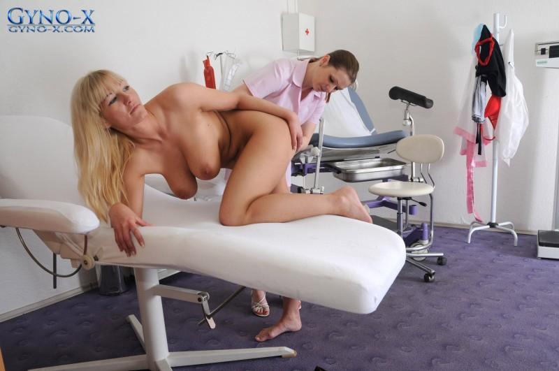 Небритая манда на приеме у врача