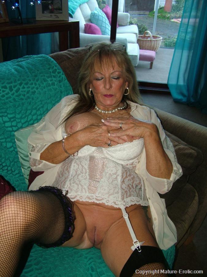 Prim Grandma - Shy Older Women