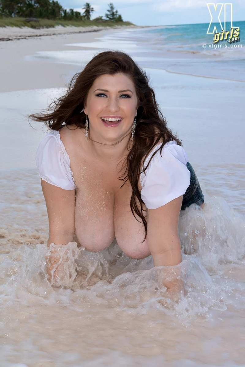 Тостушка на пляже