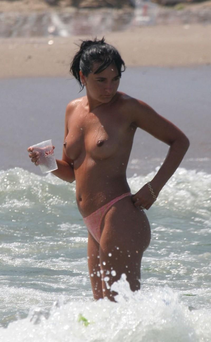 Эротические фото с нудистских пляжей