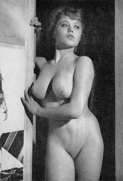 ретро фото с бритыми лобками